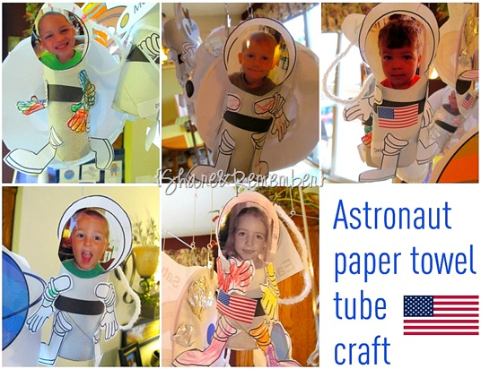 Astronauts Preschool Space Craft