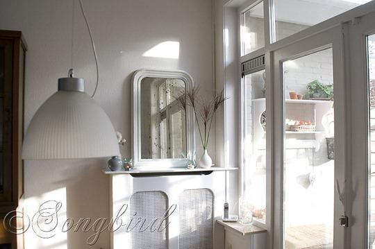 White Living Room Vignette 4