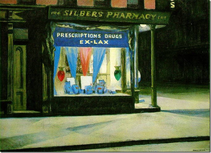 Edward_Hopper_Drug_Store_1927