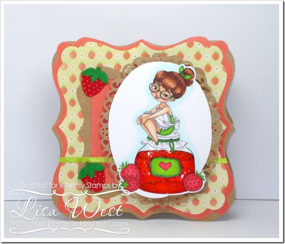 Lia Stampz Strawberry Girl (3)