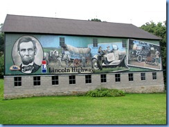 3421 Pennsylvania - btwn Stoystown & Ferrelton - Lincoln Highway (US-30) - Lincoln Highway mural