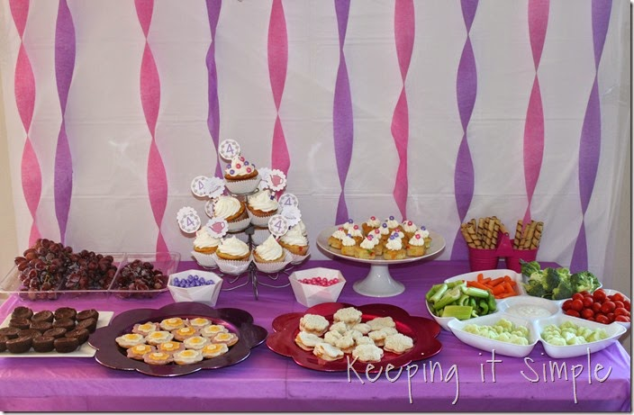 Little Girl Birthday Party Idea Tea With Stations 19