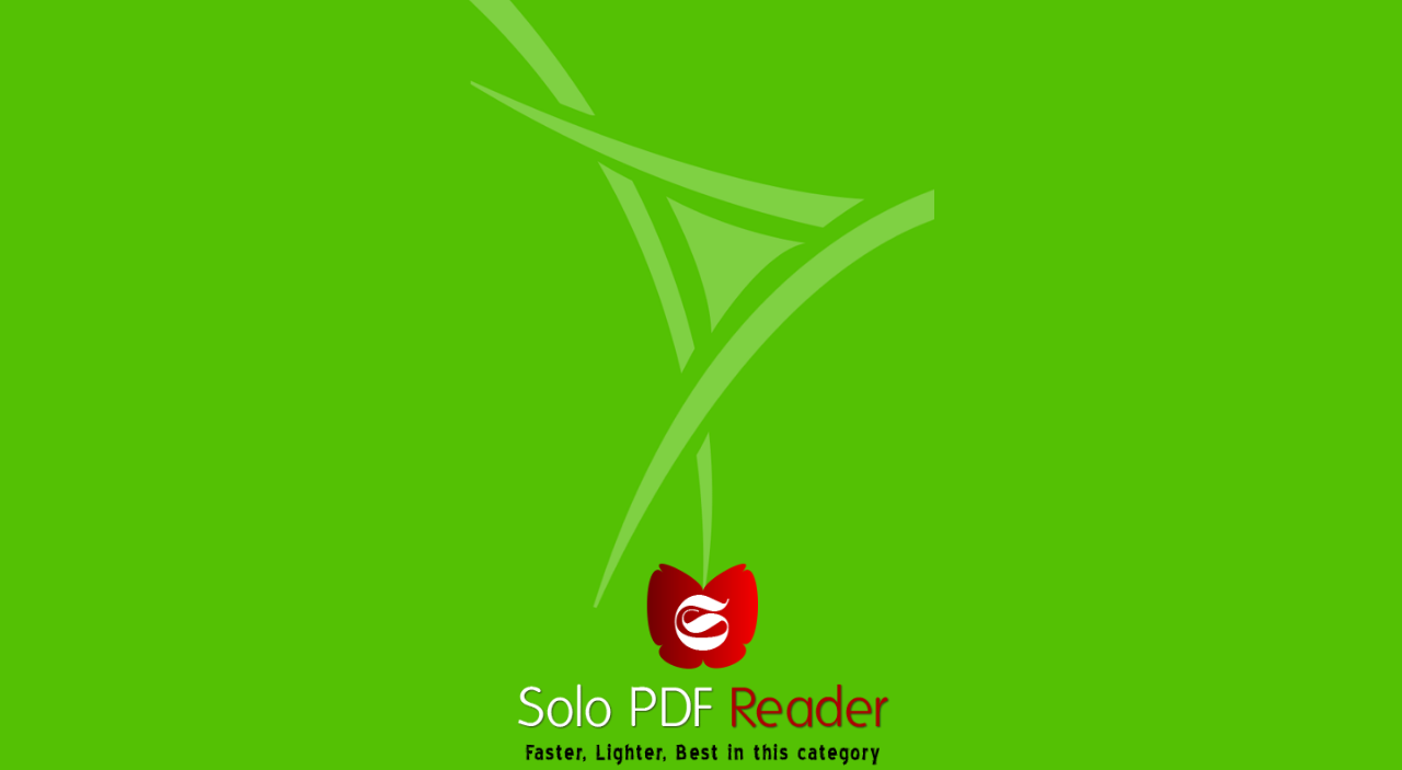Solo PDF Reader - screenshot