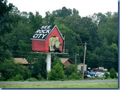 8549 US-72 East ,Trail of Tears Corridor, Alabama - See Rock City sign