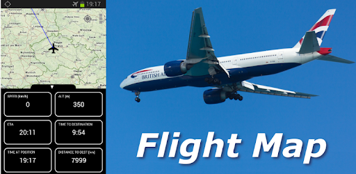 Own personal flight tracker, speed and altitude while flying in the air