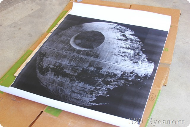 death star engineer print from staples