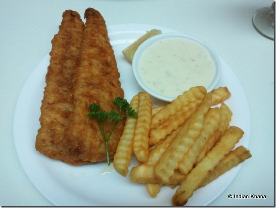 Secret Recipe Review fish and chips