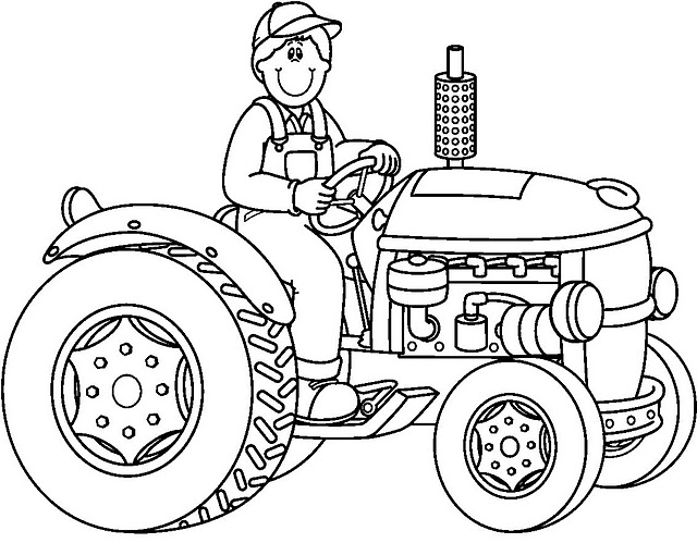 Dessin Tracteur Tondeuse as well bine harvester isolated likewise Tractor Vector Art furthermore Tractor Coloring Pictures likewise Tractor Coloring Pages To Print. on new holland old tractors