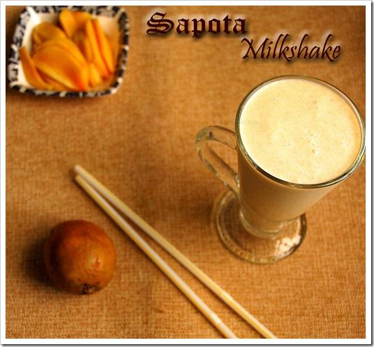 Chikku-milkshake