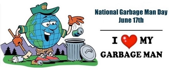 garbage man day