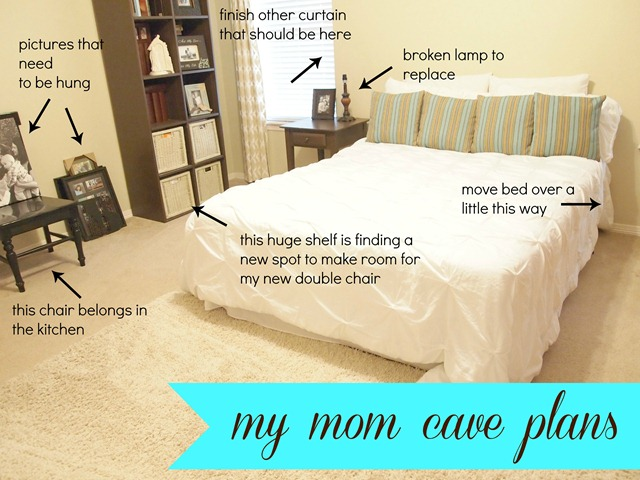 #momcave before