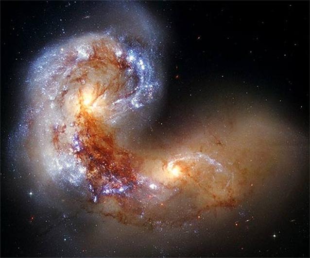 colisao galaxias