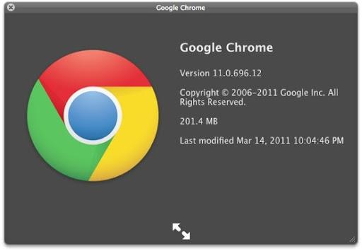 el nuevo logo de Chrome