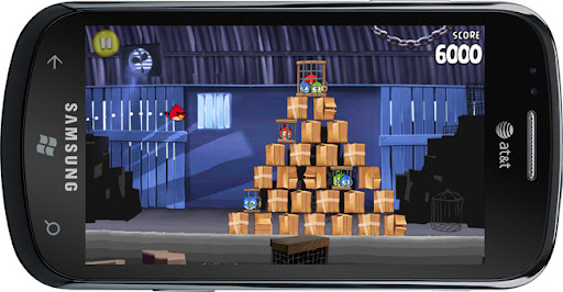 Angry Birds para Windows Phone 7