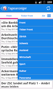 Schweiz News - screenshot thumbnail