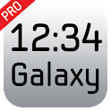 Galaxy Clock Widget Pro icon