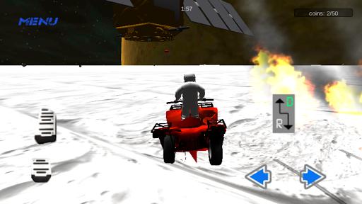 【免費賽車遊戲App】لعبة قيادة رباعية في الفضاء-APP點子