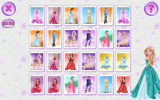 记忆游戏的女孩 免费版|玩教育App免費|玩APPs