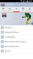 Screenshot of iSKI Canada