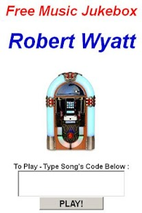Robert Wyatt Jukebox - screenshot thumbnail