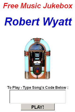 Robert Wyatt Jukebox - screenshot