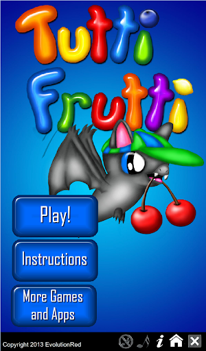 Tutti Frutti- Fruit Match 3