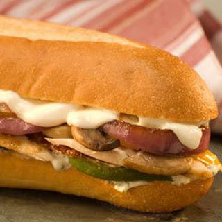 Mediterranean Sandwich.