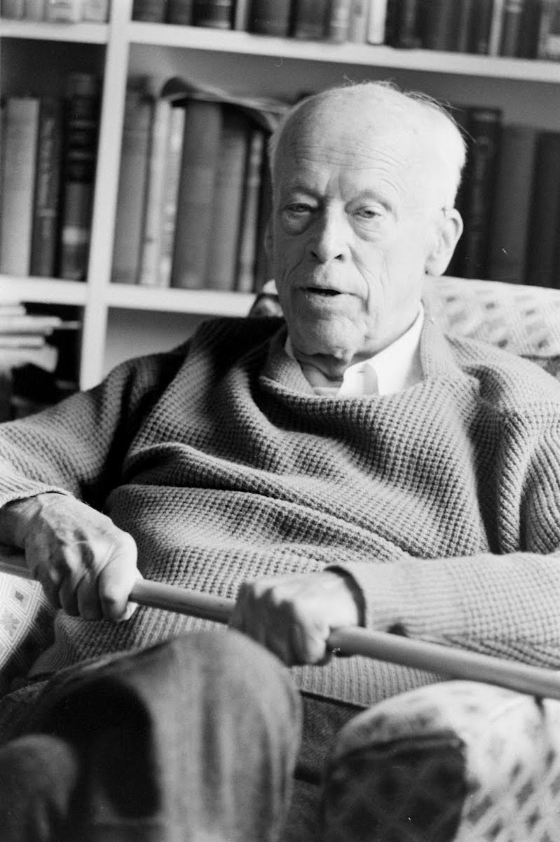 Norman Thomas At Home