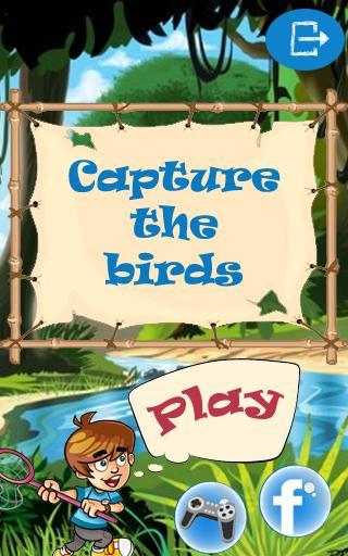 捕捉鳥類的孩子
