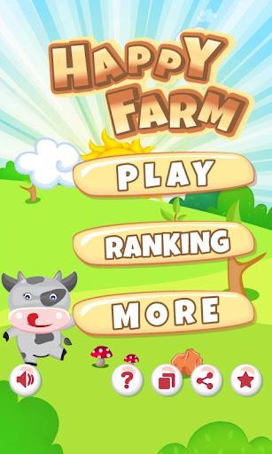 Happy Farm Jump - Kids Game