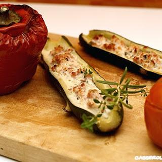 Provencal Stuffed Vegetables.