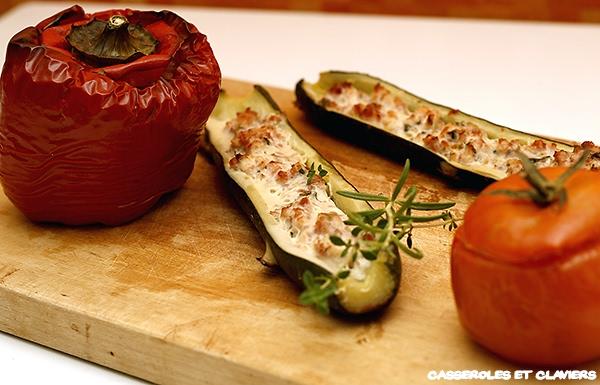 Provencal Stuffed Vegetables