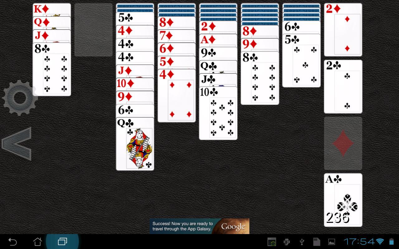 Russian Solitaire HD- screenshot