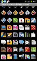 Screenshot of Icon Set M ADW/Circle Laun/DVR