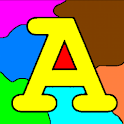 Coloring for Kids – ABC logo