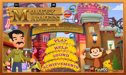 Monkey Madness - Hidden Object