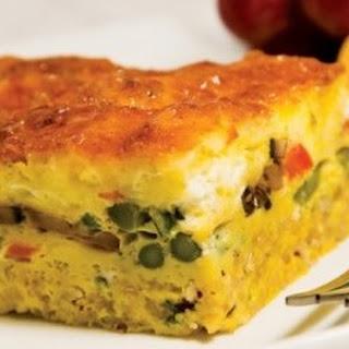Quinoa-Crusted Quiche Recipe