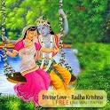 Divine Love Radha Krishna Free icon