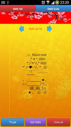 Tin nhắn chúc tết hot - 2015