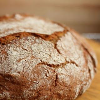 Slow Rise No-Knead Einkorn Bread