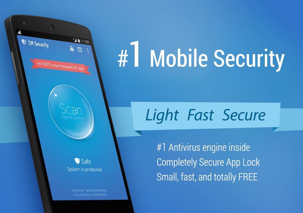 Cm Security Antiv 237 Rus Applock Apps Para Android No