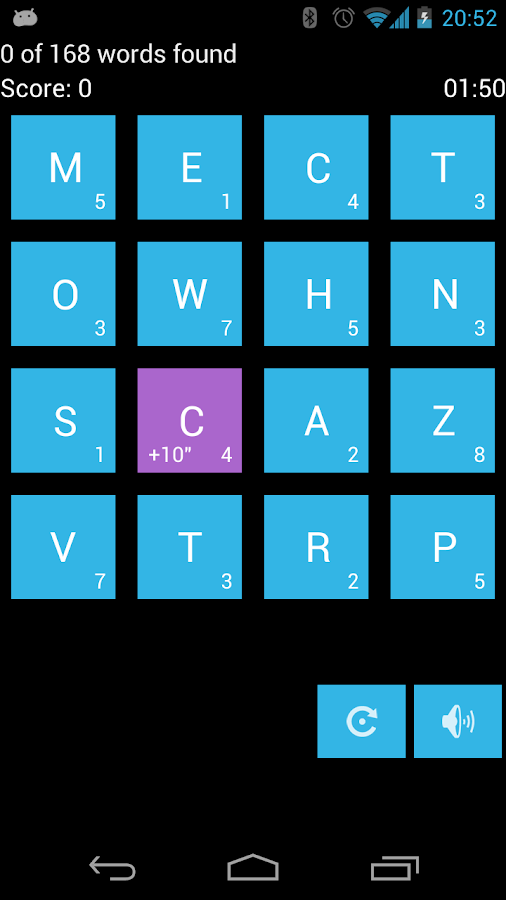 FIND words and numbers- screenshot