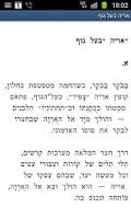 Screenshot of Arie Baal Guf אריה בעל גוף