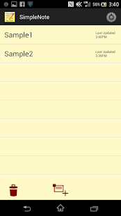 Notepad (Simple & Clean) - náhled