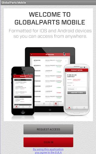 GlobalParts Mobile