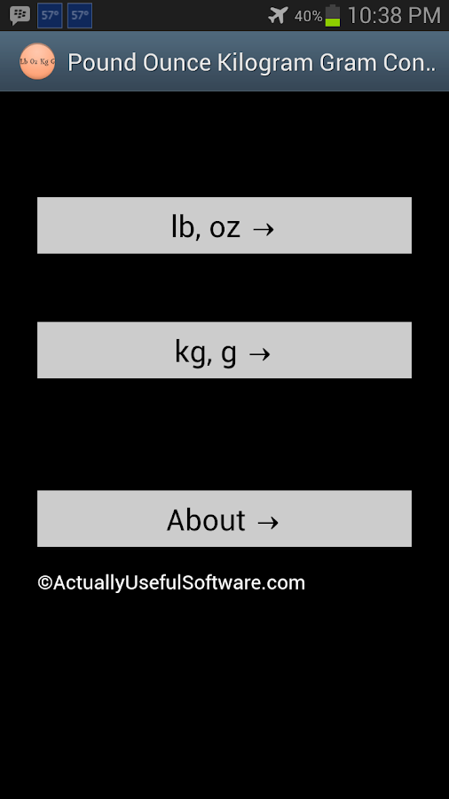 Pound Ounce Kilogram Gram Conv - Android Apps on Google Play