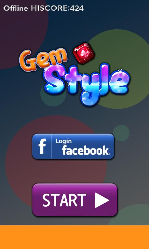 GemStyle with Facebook - screenshot