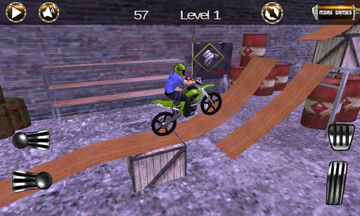 オートバイレースゲームHD