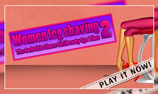 Women Leg Shaving 2