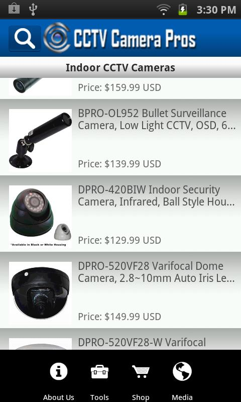 CCTV Camera Pros Mobile - screenshot